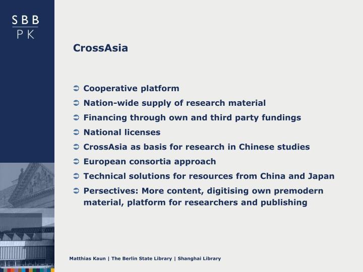 CrossAsia