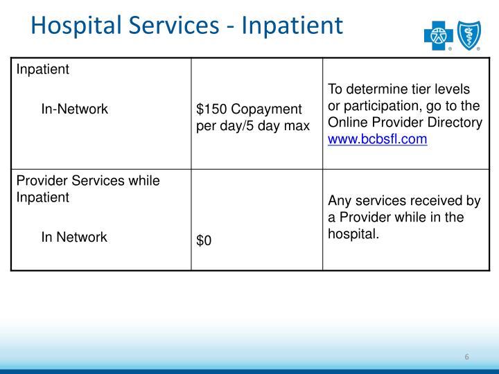 Hospital Services - Inpatient