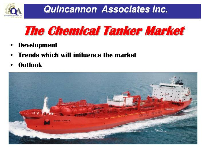 The chemical tanker market