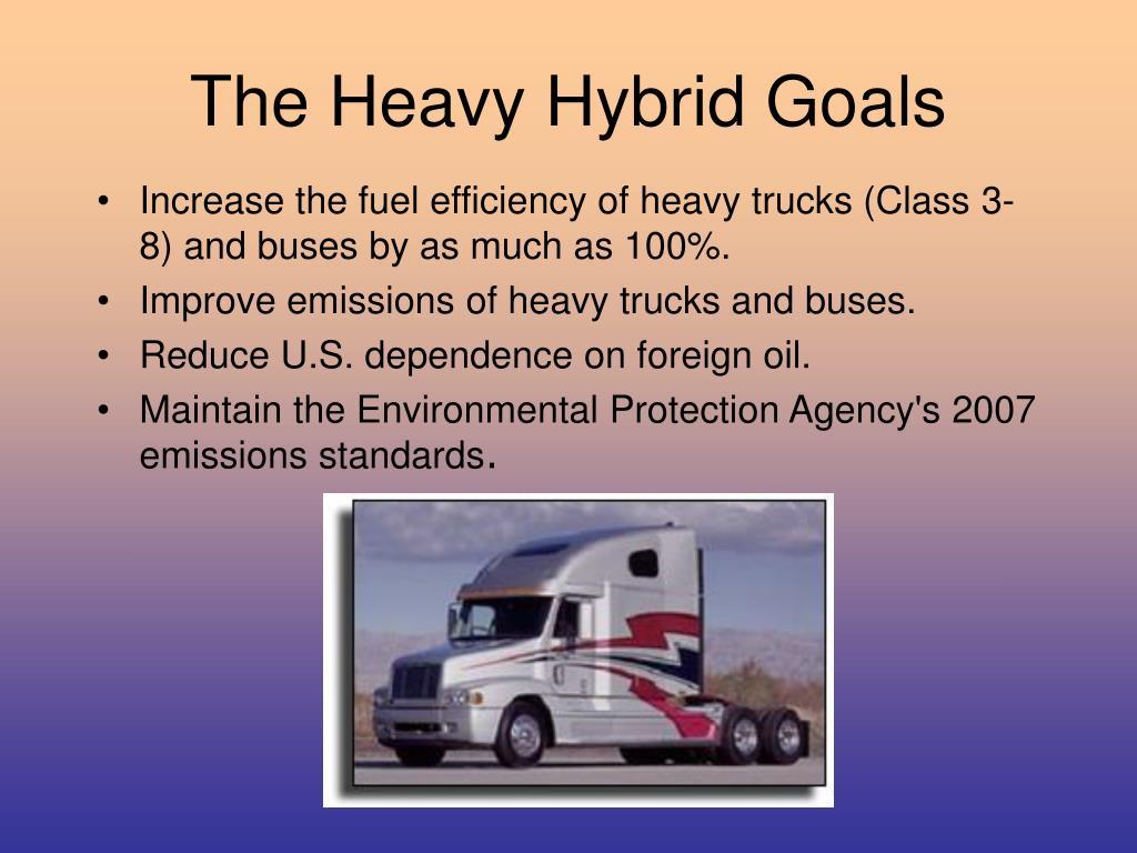 The Heavy Hybrid Goals