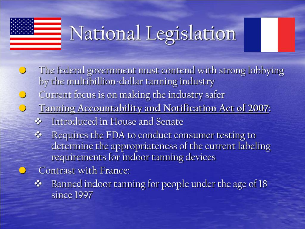 National Legislation