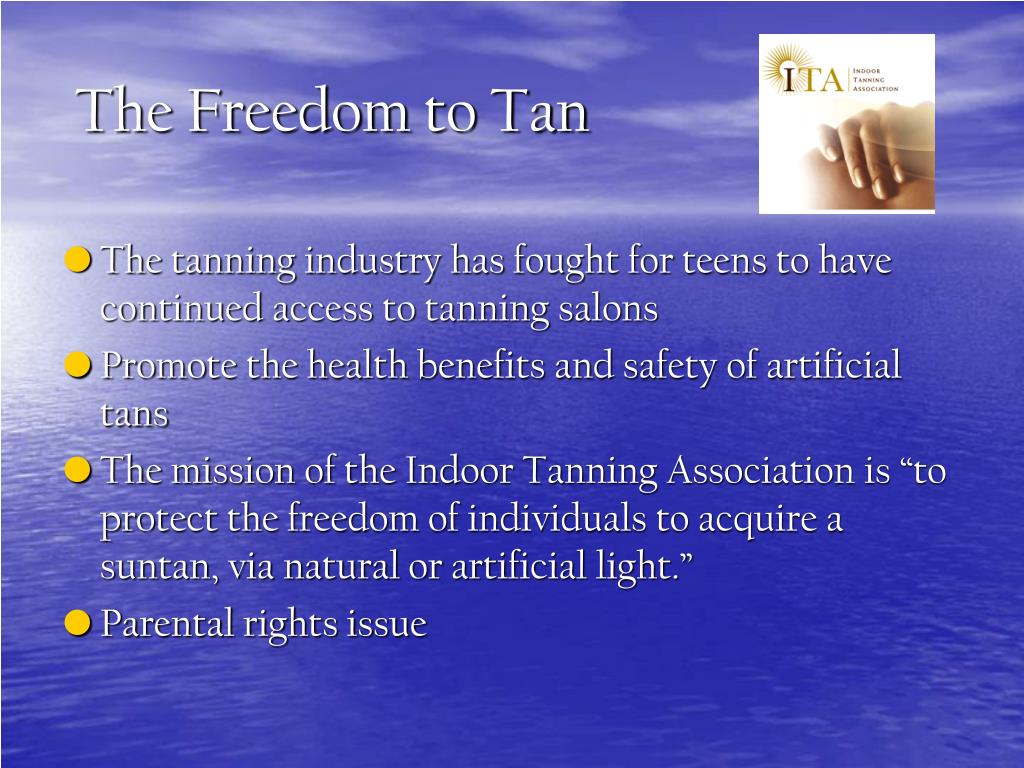 The Freedom to Tan