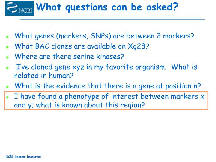 What genes (markers, SNPs) are between 2 markers?