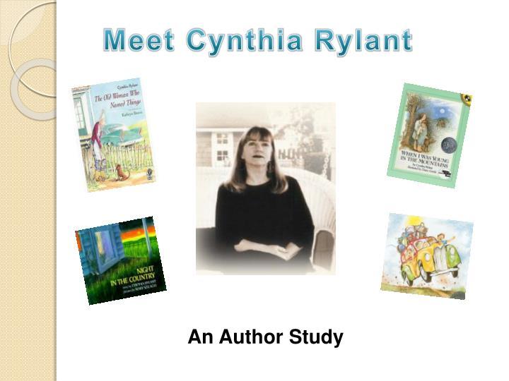 Meet Cynthia
