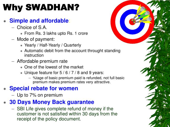 Why SWADHAN?
