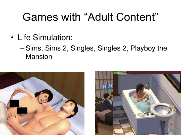 "Games with ""Adult Content"""