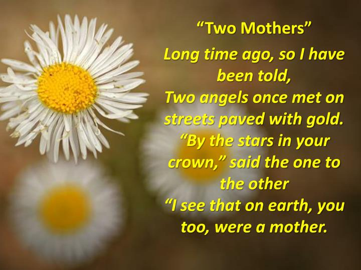 """Two Mothers"""