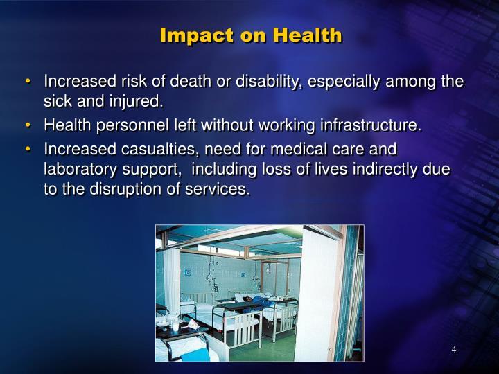 Impact on Health