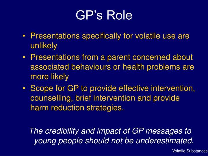 GP's Role