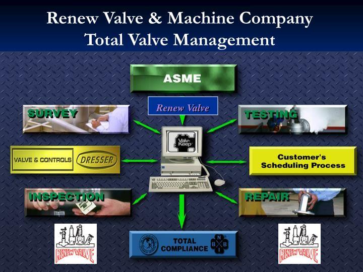 Renew Valve & Machine Company