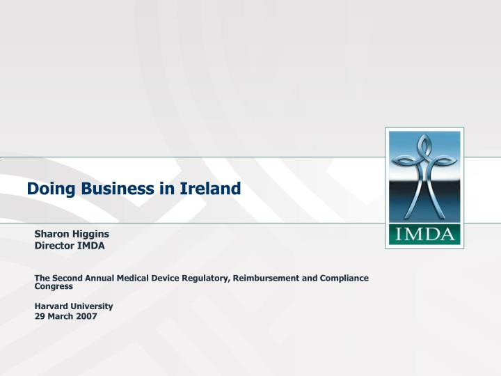 Doing business in ireland