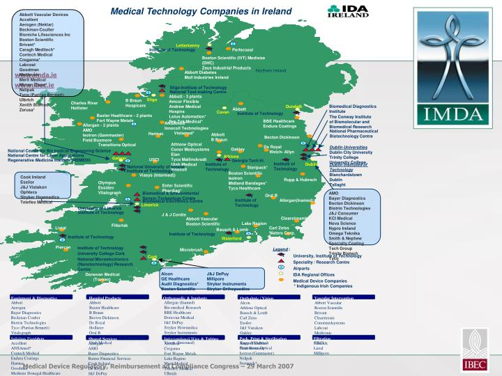 Medical Technology Companies in Ireland