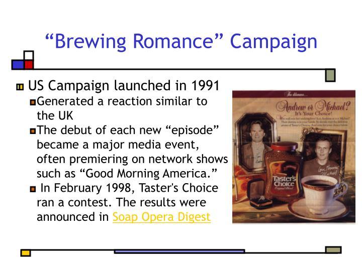 """Brewing Romance"" Campaign"