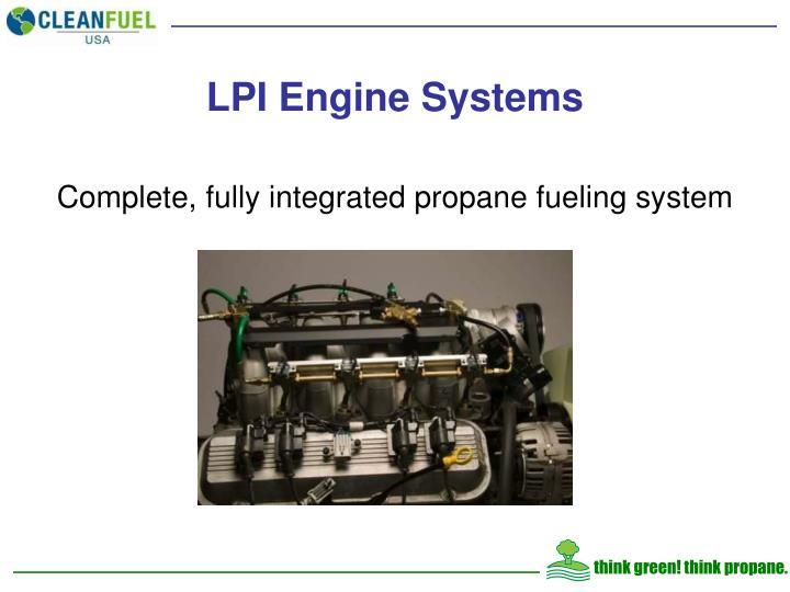 LPI Engine Systems