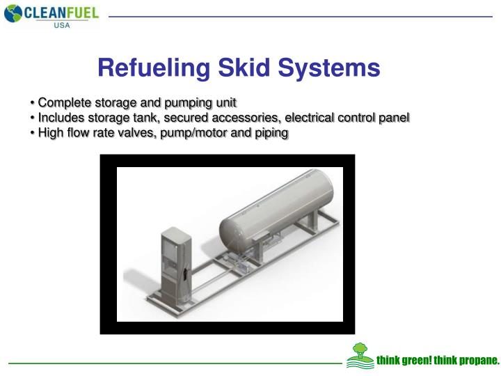 Refueling Skid Systems