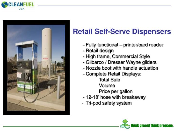 Retail Self-Serve Dispensers
