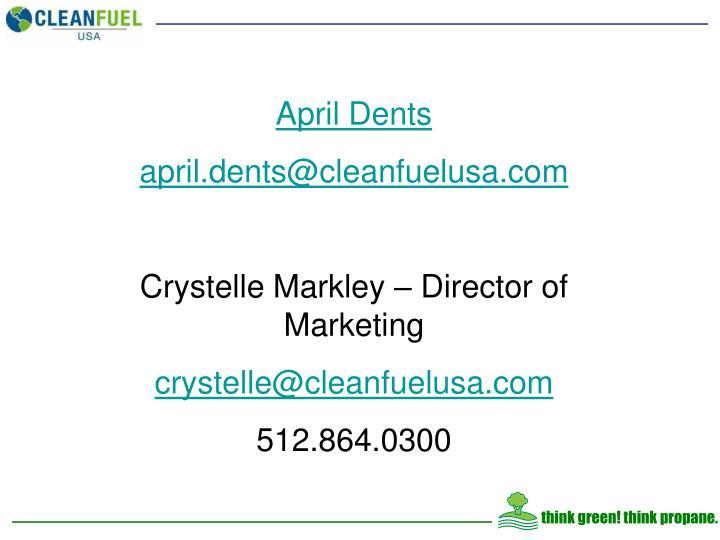 April Dents