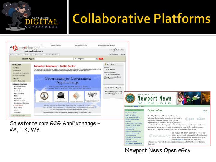 Collaborative Platforms