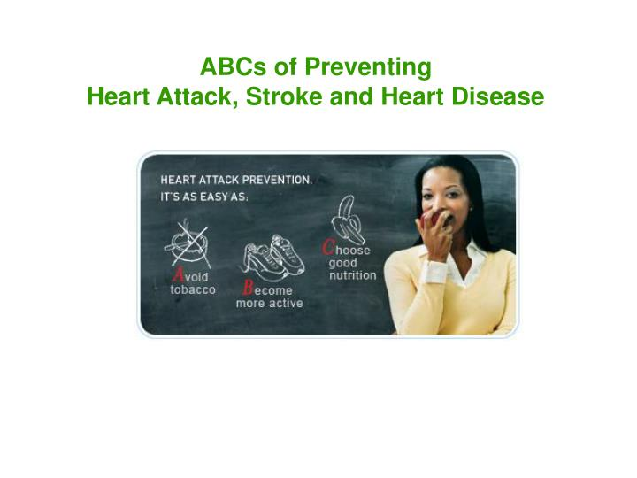 ABCs of Preventing
