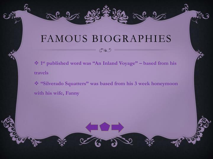 Famous Biographies