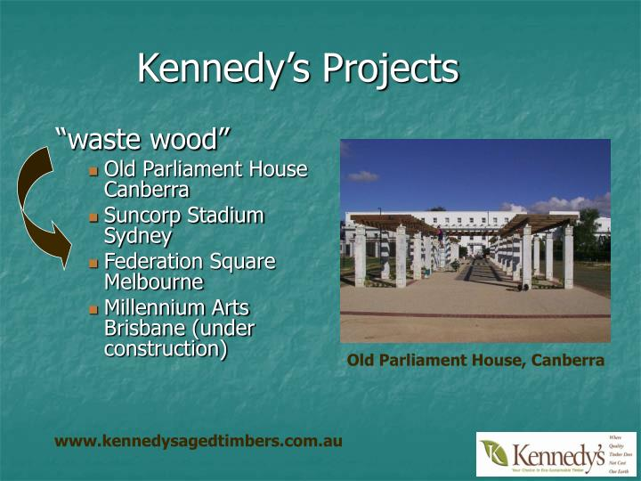 Kennedy's Projects