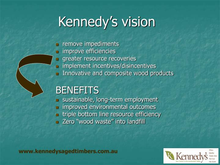 Kennedy's vision