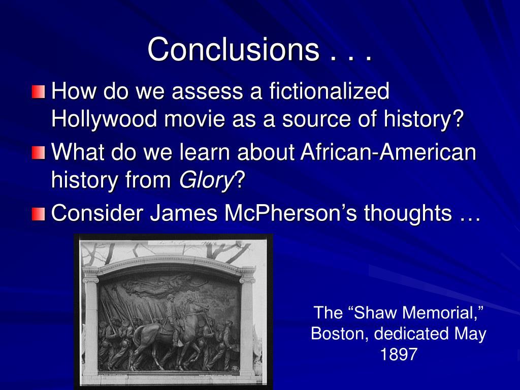 History vs hollywood glory