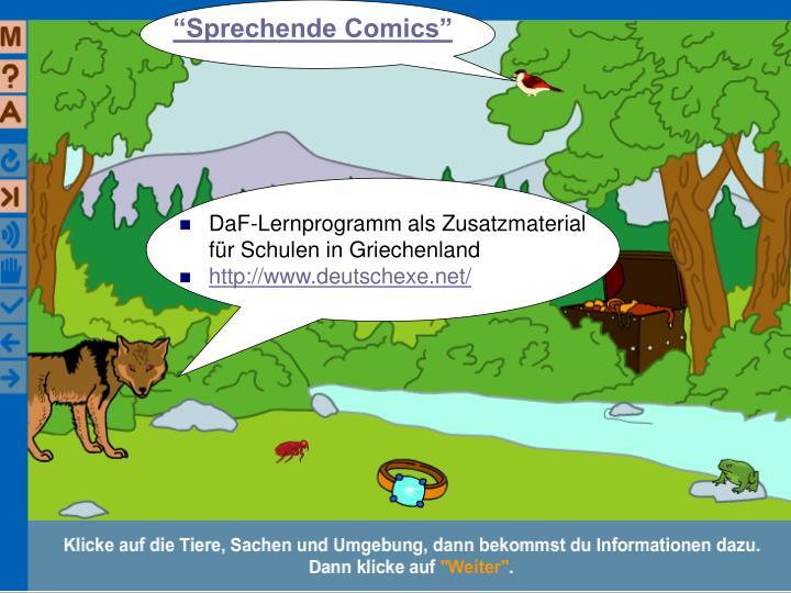 """Sprechende Comics"""