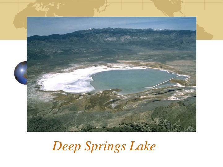 Deep Springs Lake