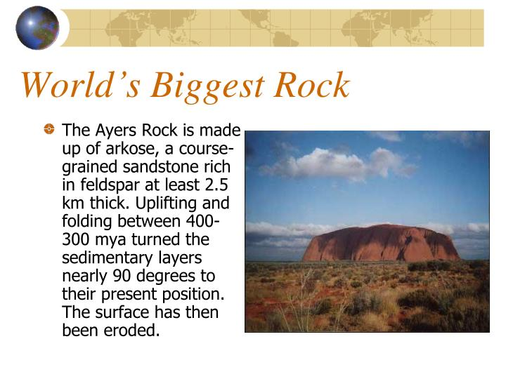 World's Biggest Rock