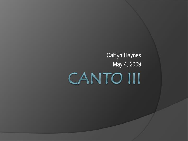 Caitlyn haynes may 4 2009