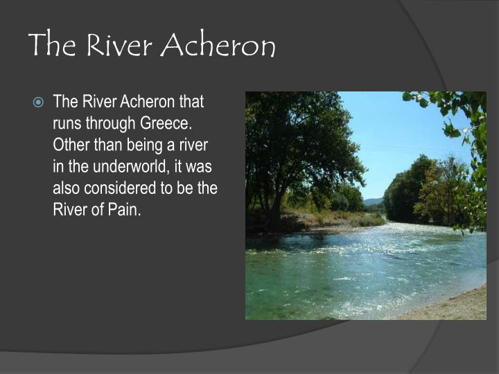 The River Acheron