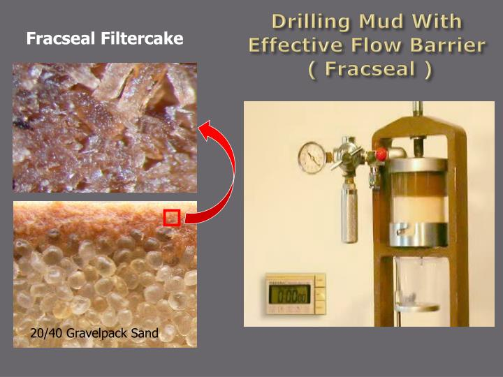 Drilling Mud With Effective Flow Barrier