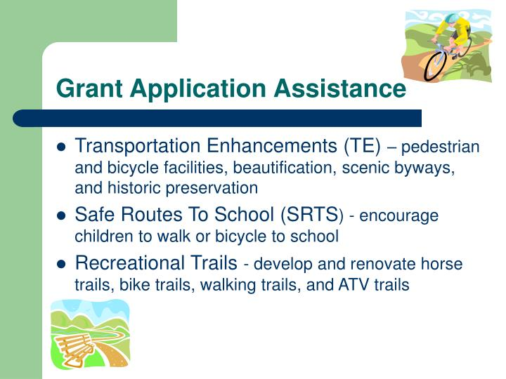 Grant Application Assistance