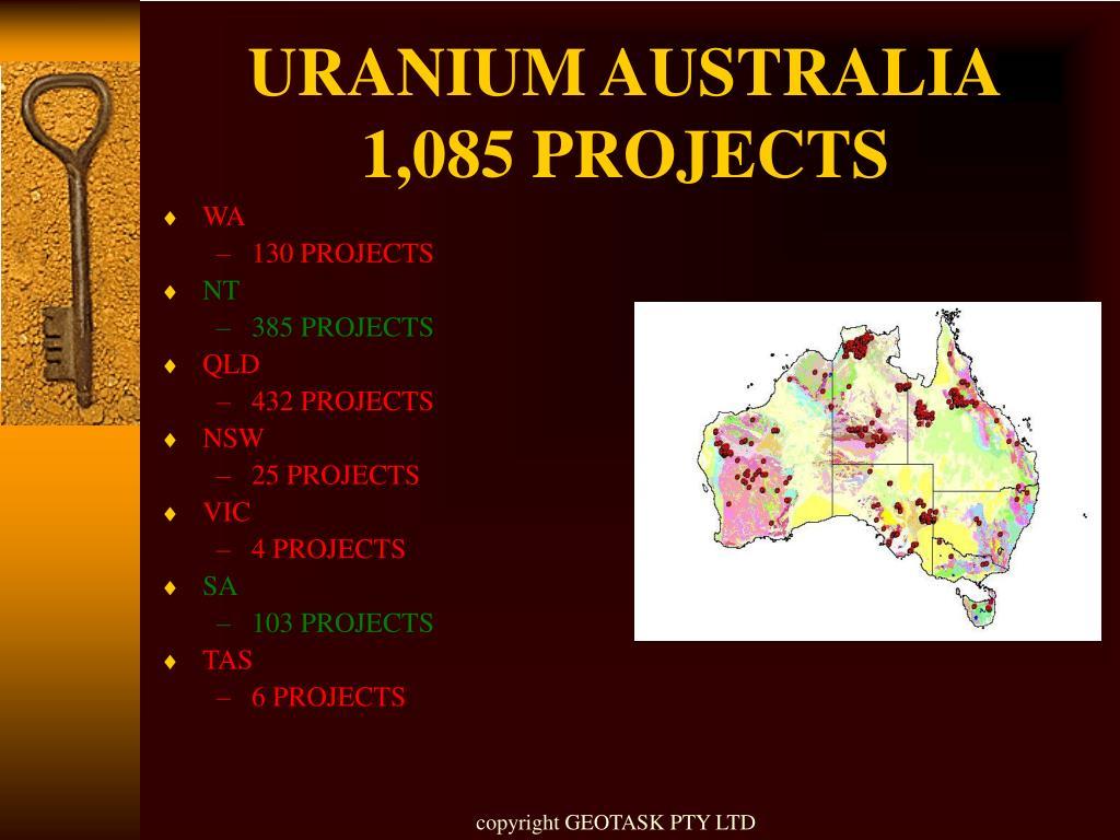 URANIUM AUSTRALIA