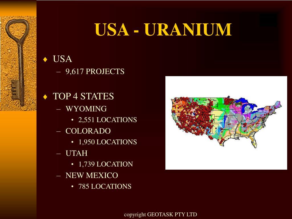 USA - URANIUM