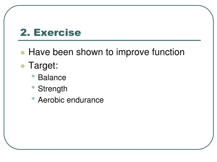 2. Exercise