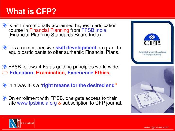 What is CFP?