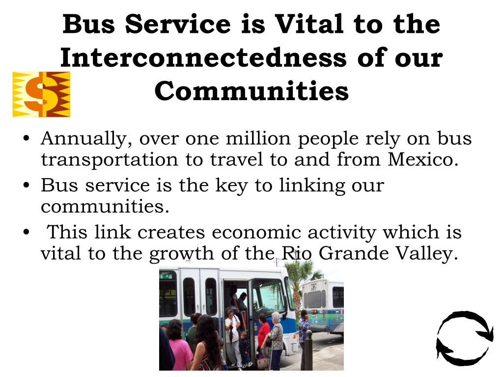 Bus Service is Vital to the Interconnectedness of our Communities