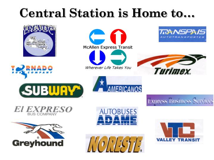 Central station is home to