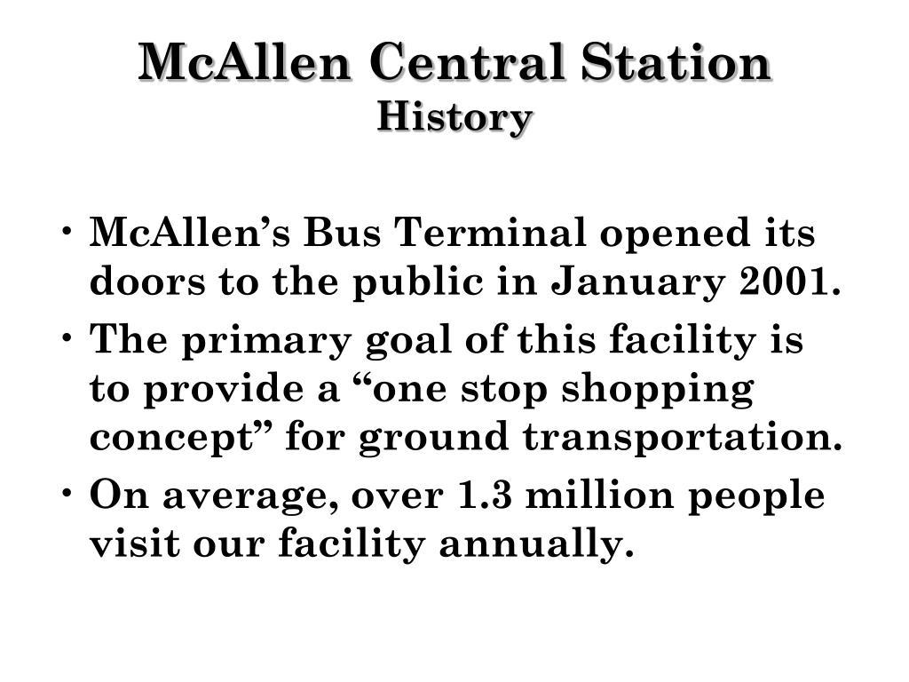 McAllen Central Station