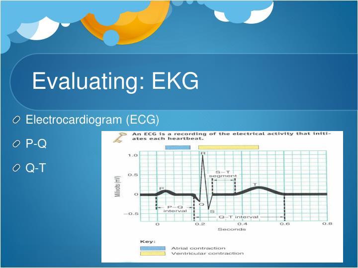 Evaluating: EKG