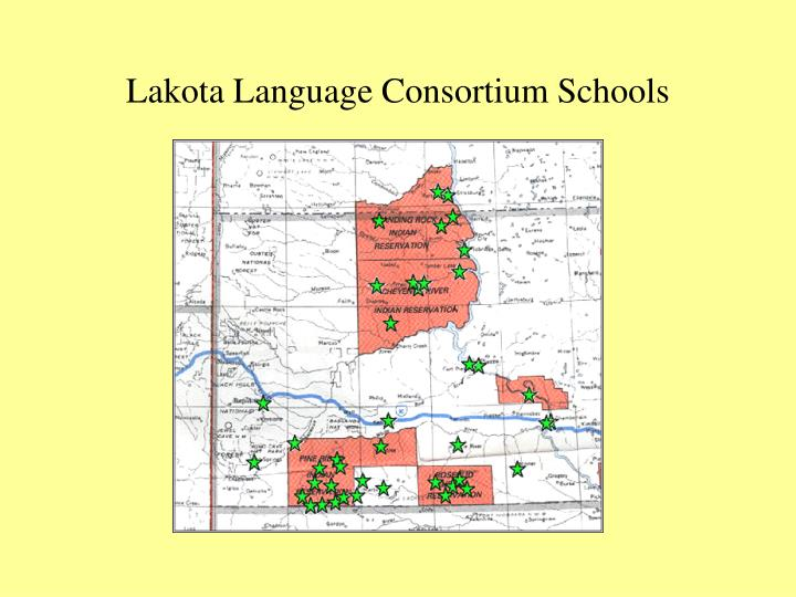Lakota Language Consortium Schools