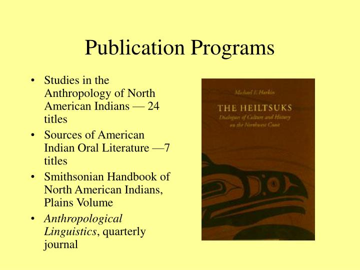 Publication Programs