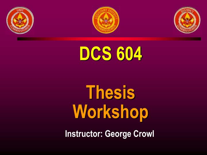DCS 604