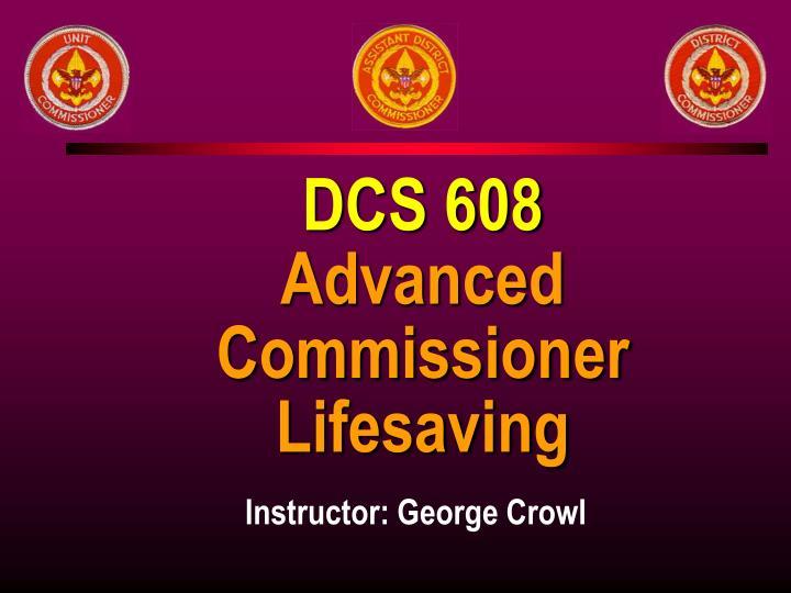 DCS 608