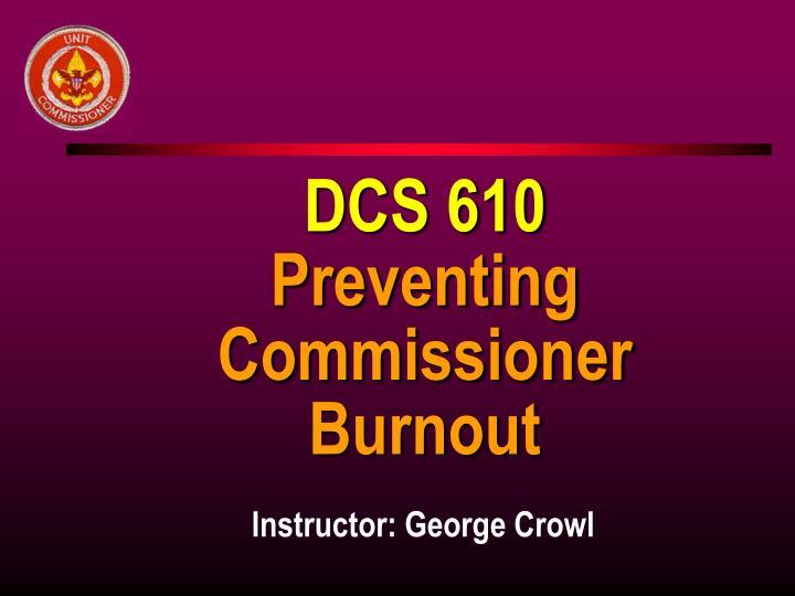 DCS 610