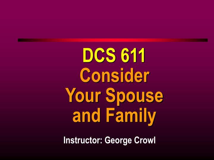 DCS 611