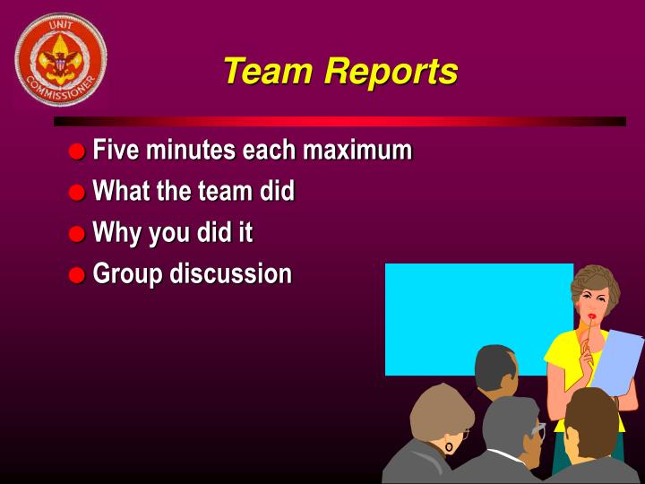 Team Reports