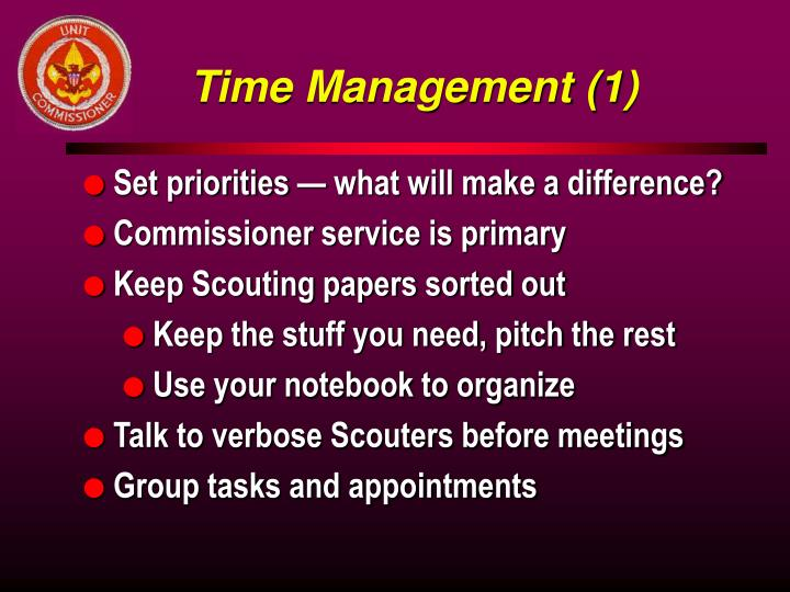Time Management (1)